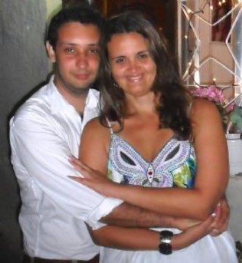 O Diego veio se comunicar comigo no momento em que já não acreditava mais que eu pudesse ser feliz com alguém. E, por mais incrível que pareça, ele também não acreditava, mas isso mudou assim que nos conhecemos!