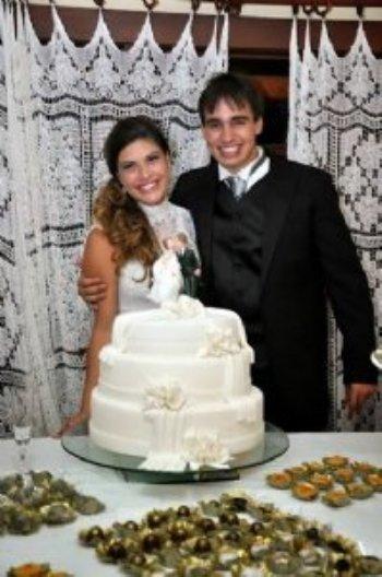 Nayane estava no mesmo propósito que eu: encontrar uma pessoa de Deus para se casar. Estamos muito felizes!!!
